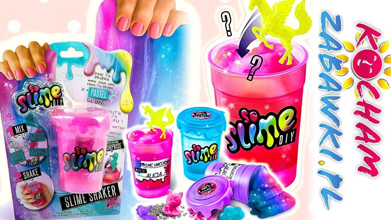So Slime DIY • Zakupy w biedronce • Kolorowe gluty • Tęczowe kreacje • openbox i tutorial