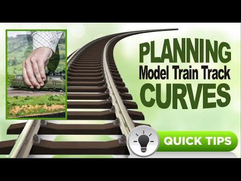 Quick Tips For Planning Model Train Track Curves On Scale 🔥Railroads