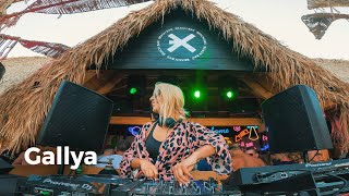 Gallya - Live @ Radio Intense, EXE Beach Bar, Bulgaria 6.9.2021 / Tech-House DJ Mix 4K