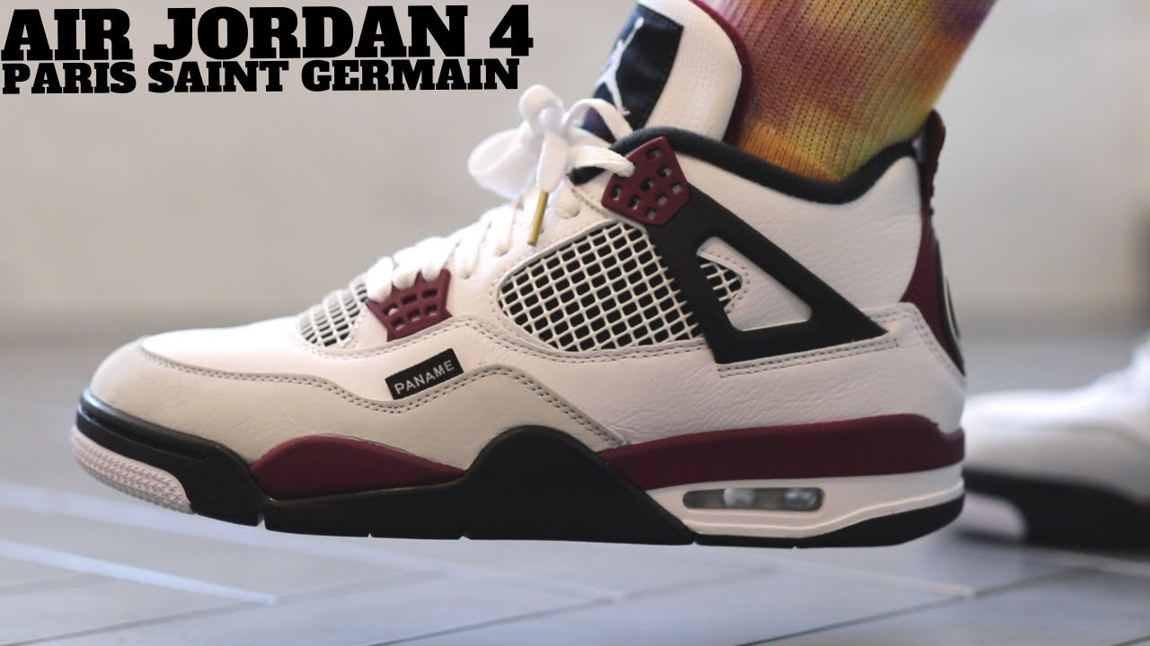air jordan retro 4 psg
