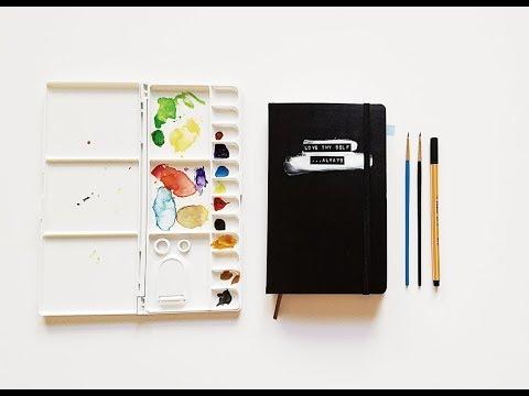 Morning Routine- Moleskine Art Journalings