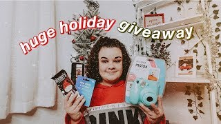 Huge Holiday Giveaway 2019! (CLOSED)