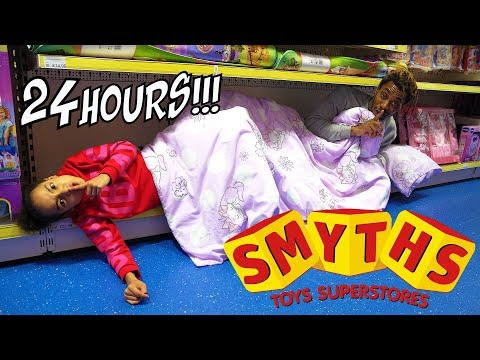 24 HOUR CHALLENGE OVERNIGHT LOCKED IN SMYTHS TOYS SUPERSTORE
