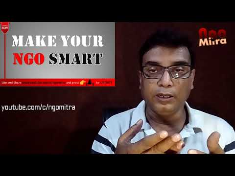 PART 1 - स्मार्ट NGO बनायें | SMART NGO for easy Achievements of Object |