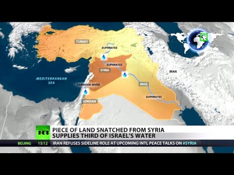 Water Wars: Land snatched from Syria supplies third of Israel's H2O