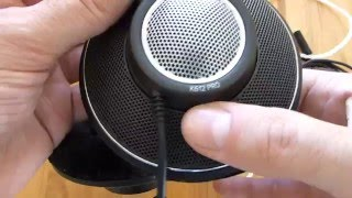aKG K612 PRO Detachable Cable Mod with DIY OCC Headphone Cable