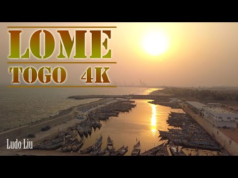 THIS is LOME - TOGO  - [4k ultra hd] drone video (2020)