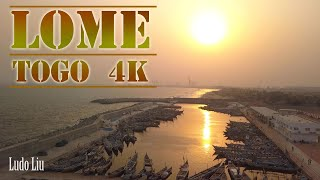 THIS is LOME - TOGO  - [4k ultra hd] drone video (...
