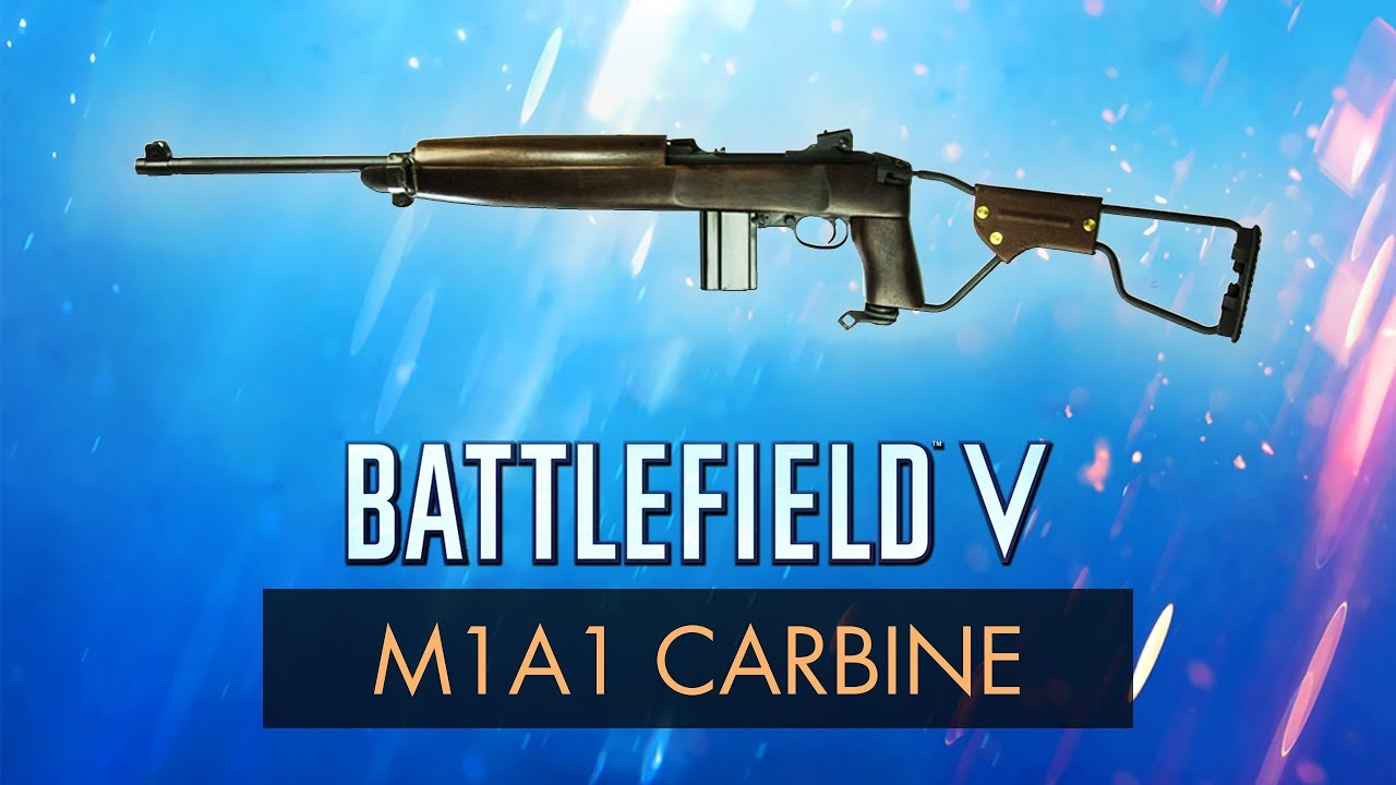 Battlefield 5: M1A1 CARBINE REVIEW / Battlefield V Weapon Guide / BF5  Multiplayer Gameplay