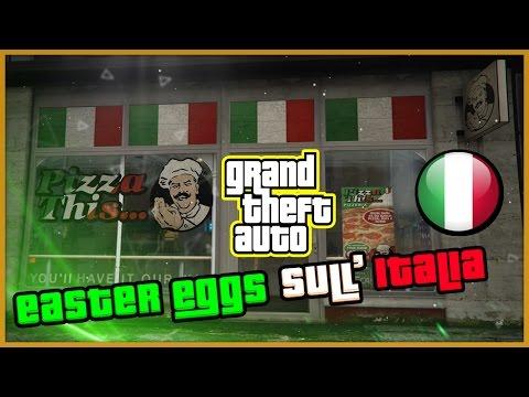 EASTER EGGS & RIFERIMENTI SULL'ITALIA IN GTA! Tutti gli Easter Egg Italiani su Grand Theft Auto ITA