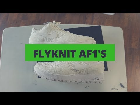 Sneaker Cleaning: Flyknit Air Force 1 Low