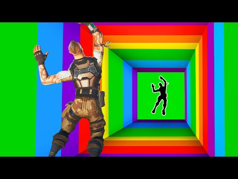SURVIVE The RAINBOW DROPPER! *IMPOSSIBLE* (Fortnite)