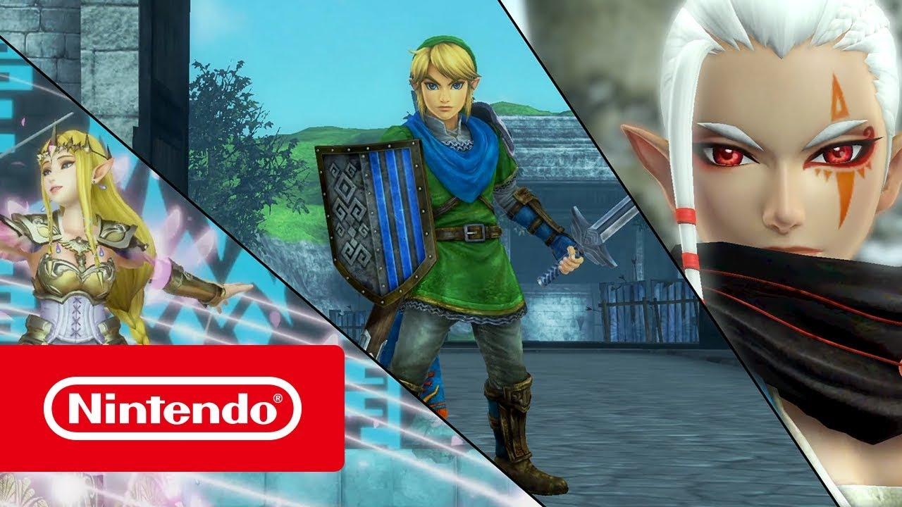 Hyrule Warriors Definitive Edition Presentation Des Heros 1 Nintendo Switch Youtube