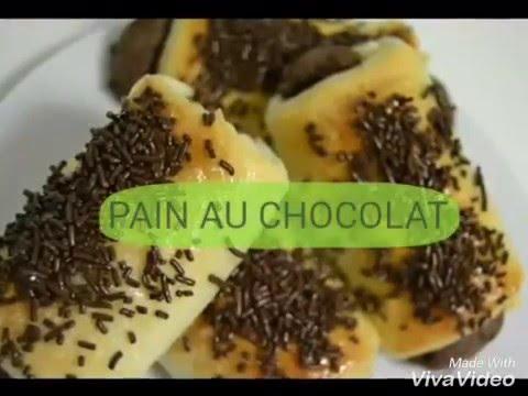 recette-de-franÇais-'pain-au-chocolat'