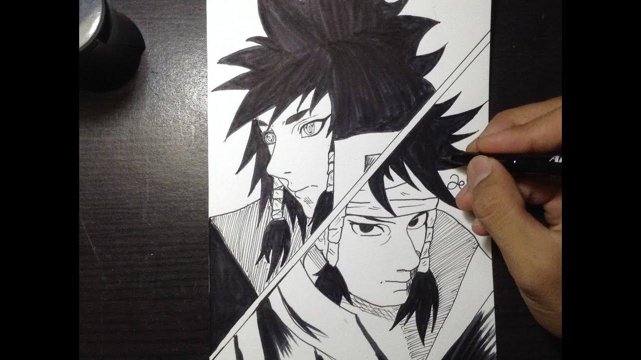 Drawing anime indra and ashura manga style