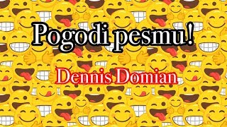 GUESS THE SONG CHALLENGE WITH DENNIS DOMIAN!
