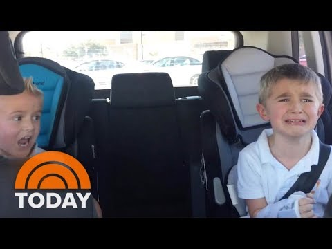 Another Boy? This Mom's Young Sons Have Hilariously Opposite Reactions To Baby News | TODAY thumbnail