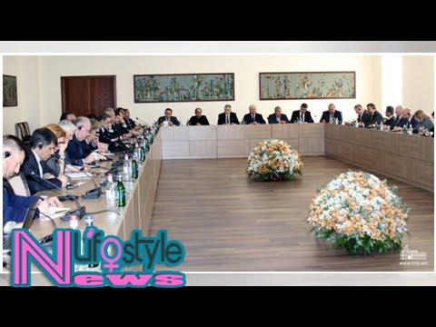 Ministers of justice and foreign affairs meet with ambassadors accredited to armenia