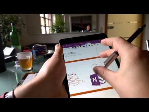 Inking & Handwriting OneNote (iPad)