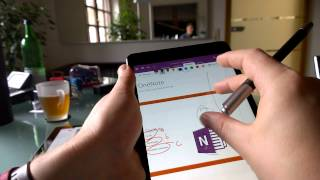 Inking & Handwriting OneNote (iPad)