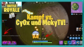 MckyTV killed?! + 1vs1 final against Cy0x!!! [ Fortnite ] #013