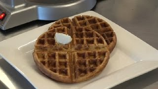 Belgian Whole Wheat Waffle Recipe : Cooking Tips & Recipes