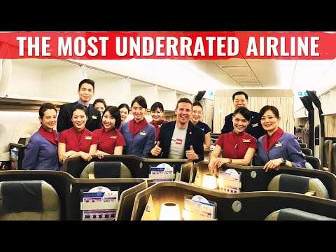 Review: China Airlines A350 - WORLD'S MOST UNDERRATED AIRLINE?