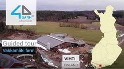 4dBarn Designed AMS Barn – Vakkamäki Testimonial from Finland (subtitled ENG, suomeksi)
