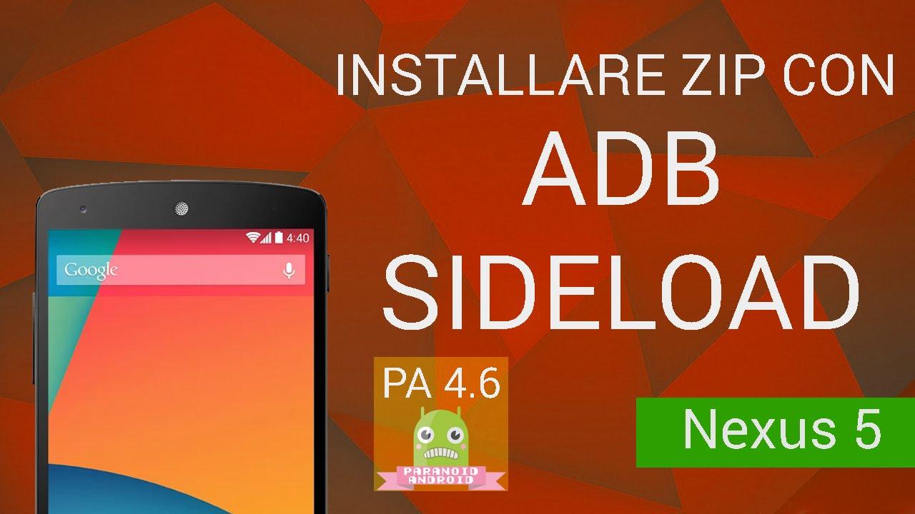 [TUTORIAL] Installare zip via ADB Sideload (TWRP) (ITA)