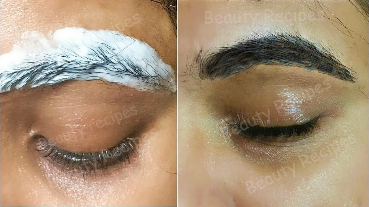 Top 3 Easy Ways to Grow Thick Eyebrows Naturally - YouTube
