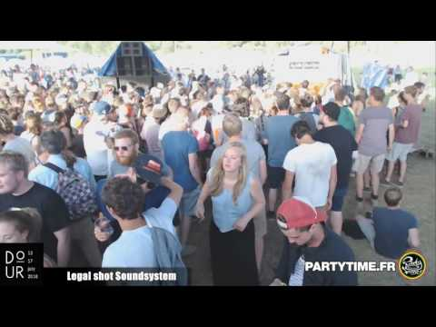 Legal Shot Sound system - #4 day 2 at Dour Festival 2016