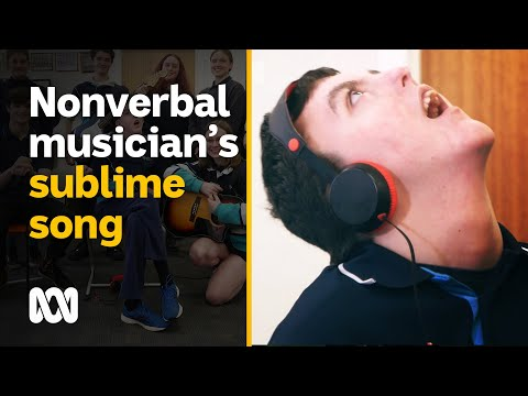 Non-verbal teen writes sublime, Nick Cave inspired song | ABC Australia