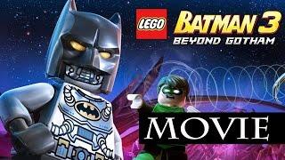 Lego Batman 3 Beyond Gotham All Cutscenes / The Movie / Full Game Movie