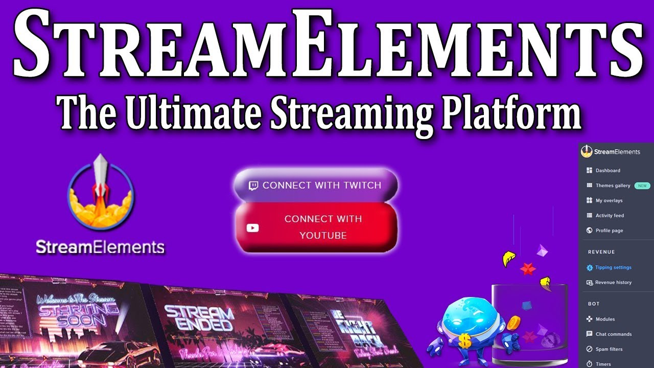 StreamElements Streaming Platform for YouTube Tutorial and Overview 2019