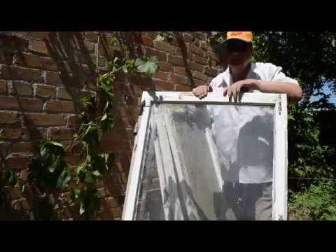 Как использовать старые оконные рамы