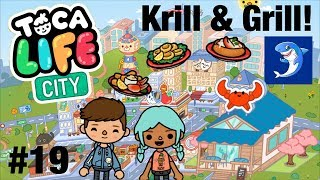Toca Life City   Krill Grill! #19