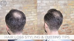 How To Cut & Style Balding or Thinning Hair