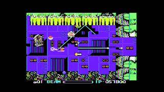 MSX実機で[R-TYPE」6面~エンディング