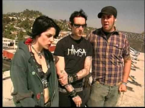 MTV News - The Distillers Interview 2002