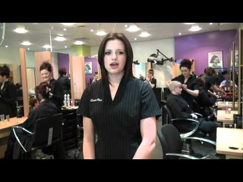 Emma-Rose Hairdressing Apprentice studying at York College.mpg