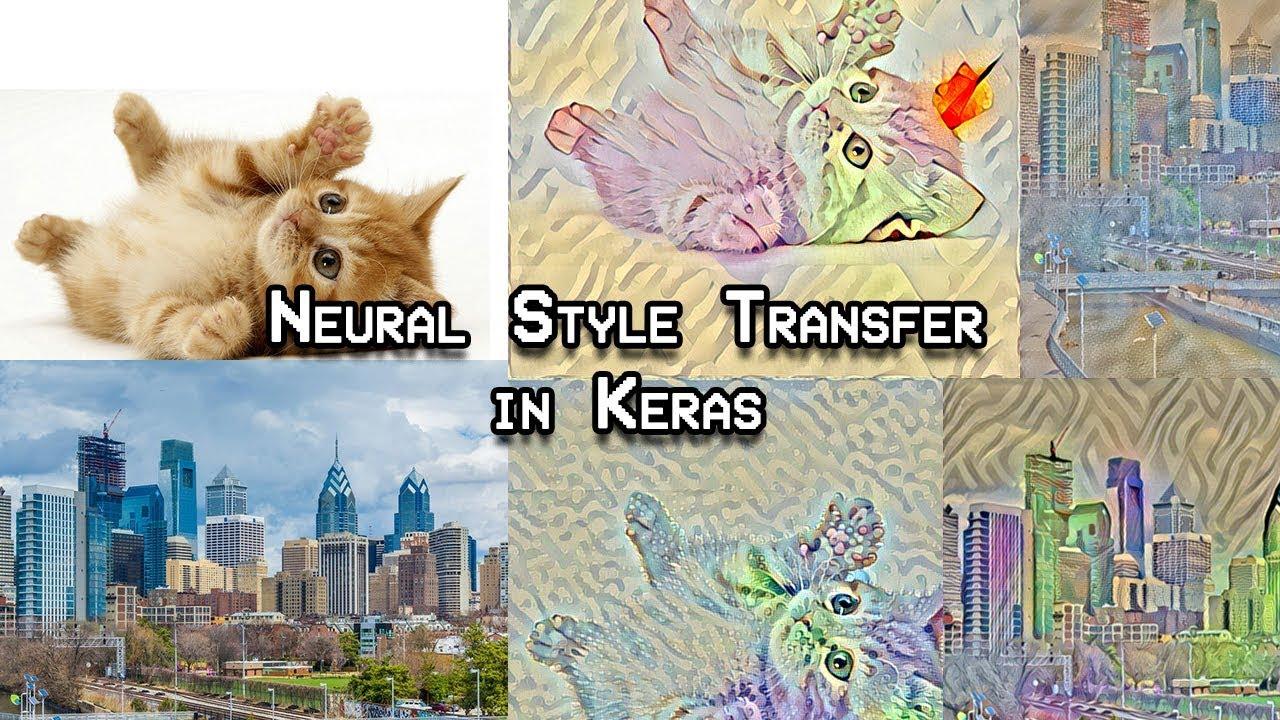Style Transfer in Keras (Part 1)