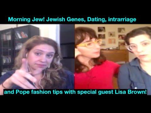 Morning Jew Ep. 52: Jewish Genetics, Dating intermarriage & author illustrator Lisa Brown
