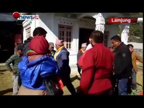 जितेका र हारेका नेताहरु निर्वाचनपछि जनताको घरदैलोमा पुग्दा मतदाता दङ्ग - NEWS24 TV