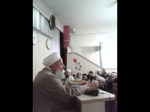 25-03-2016 AHMET İSLAMOĞLU BOLU HANAN VAKFI SOHBETİ
