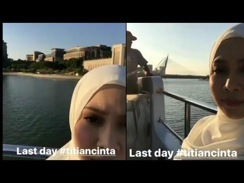 Last Day Episod Akhir 'Titian Cinta' Berakhir Di Atas Kapal!