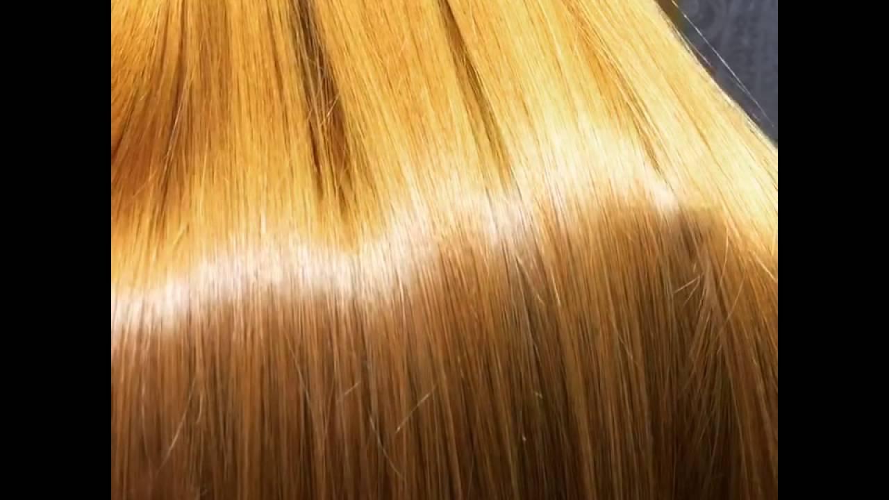 kiiltoa hiuksiin