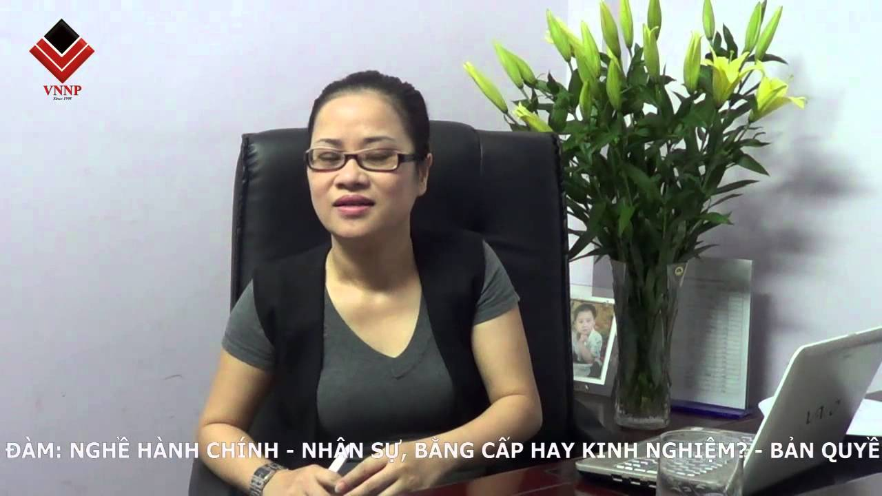 Tọa đàm nghề hành chính nhân sự – VNNP