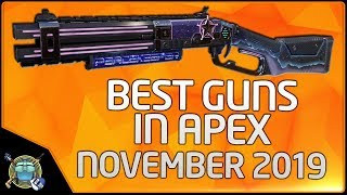 Apex Legends Tier List November 2019 - Weapons and Grenades