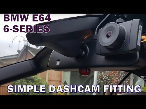 BMW E63 E64 Yi 2.7k Ultra Dash Cam Fitting with remote control - Timms BMW Repairs and Information