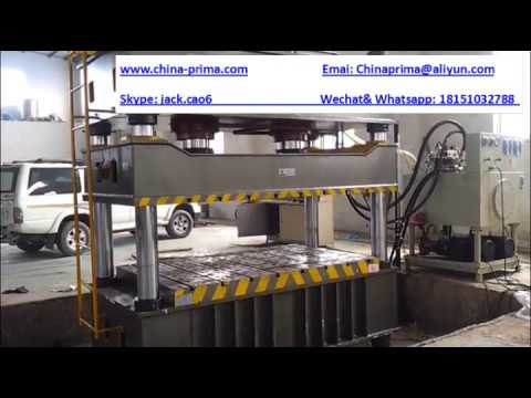 Y27 400TON Four column basin forming machine hydraulic press with hydraulic cushion
